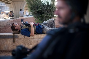 James Foley, Syria, 2012. Photo: Manu Brabo.